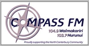 Compass FM Kaiapoi radio